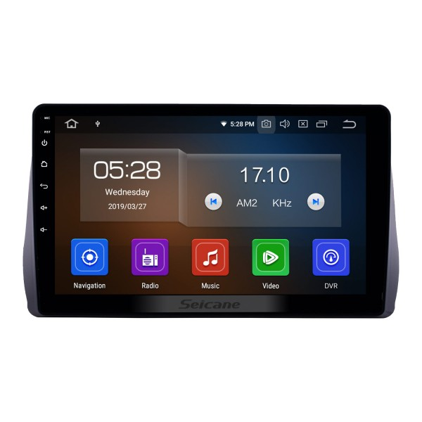 10.1 inch Android 10.0 GPS Navigation Radio for 2009-2012 Toyota Wish Bluetooth HD Touchscreen Carplay support Backup camera