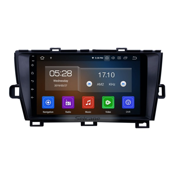 HD Touchscreen 2009-2013 Toyota Prius LHD Android 10.0 9 inch GPS Navigation Radio Bluetooth WIFI Carplay support DVR OBD2