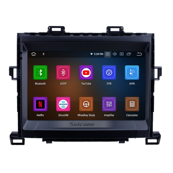 Android 10.0 9 inch GPS Navigation Radio for 2009-2014 Toyota Alphard/Vellfire ANH20 with HD Touchscreen Carplay Bluetooth WIFI support Digital TV