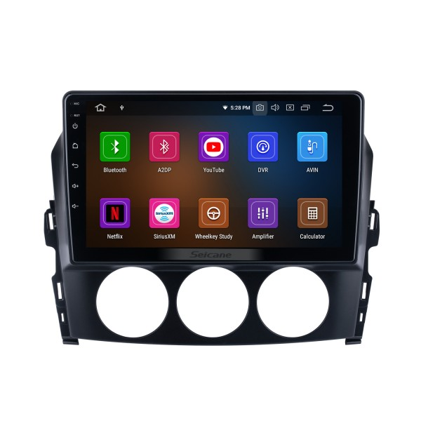 Andriod 10.0 HD Touchsreen 9 inch 2009 Mazda MX-5 GPS Navigation System with Bluetooth support Carplay