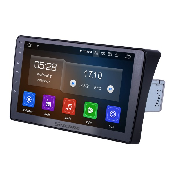 OEM 9 inch Android 10.0 for 2010-2013 2014 2015 Nissan Navara Radio Bluetooth AUX HD Touchscreen GPS Navigation Carplay support OBD2
