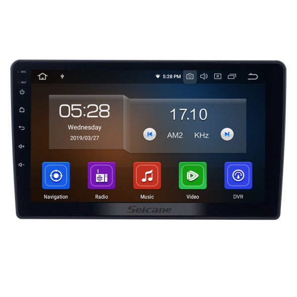 Android 10.0 9 inch GPS Navigation Radio for 2010-2014 Hyundai H1 with HD Touchscreen Carplay USB Bluetooth support DVR Digital TV