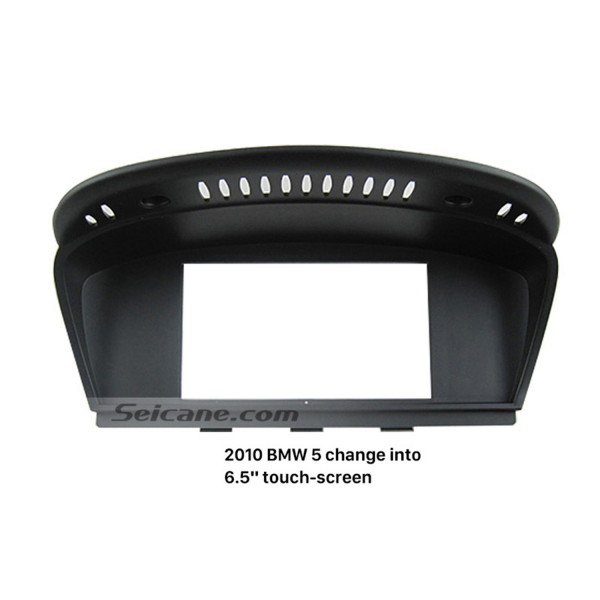 High quality 6.5 Inch 2010 BMW 5 Car Radio Fascia Stereo DVD Frame Panel Adaptor Dash Mount Kit
