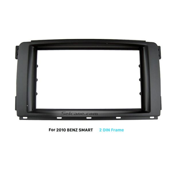 Elegant Double Din 2010 Mercedes BENZ SMART Car Radio Fascia Install Frame Dashboard Panel Auto Stereo Adapter
