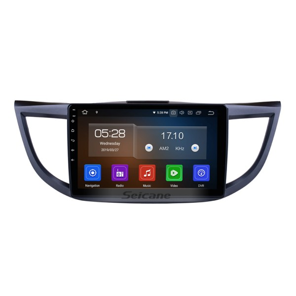 10.1 inch Android 10.0 HD 1024*600 Touchscreen For 2011 2012 2013 2014 2015 HONDA CRV Radio GPS Navigation System with 4G wifi Bluetooth Mirror Link Digital TV OBD2 TPMS Backup Camera