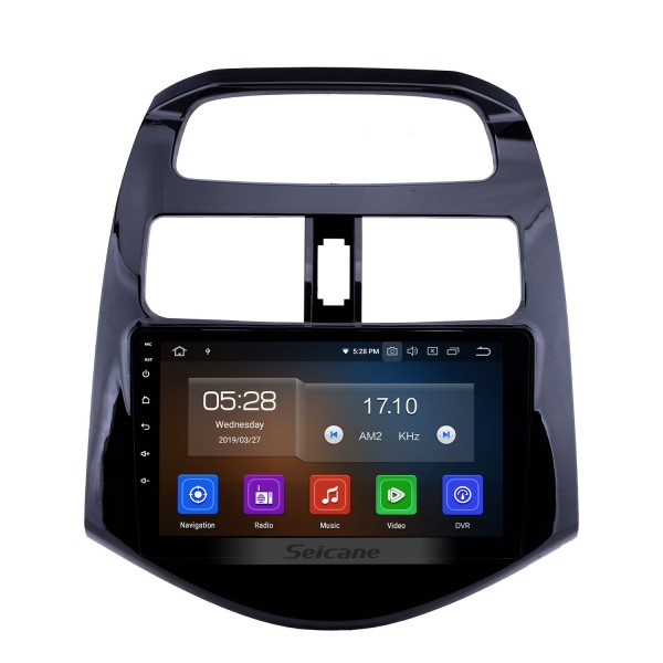 9 inch Android 10.0 GPS Navigation for 2011 2012 2013 2014 Chevy Chevrolet DAEWOO Spark Beat Matiz HD Touchscreen Bluetooth Radio Wifi Music USB AUX ssupport DVR OBD2 Carplay Rearview Camera