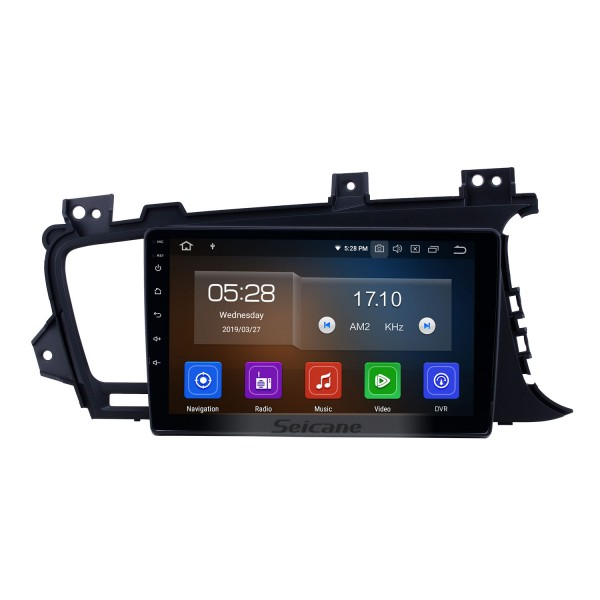 OEM 9 inch Android 10.0 Radio for 2011-2014 Kia K5 RHD Bluetooth HD Touchscreen GPS Navigation Carplay support Rear camera