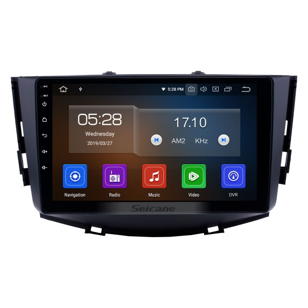 9 inch Android 10.0 Bluetooth Car GPS Navigation Stereo for 2011-2016 Lifan X60 Radio support RDS 4G WiFi Mirror Link OBD2 Steering Wheel Control
