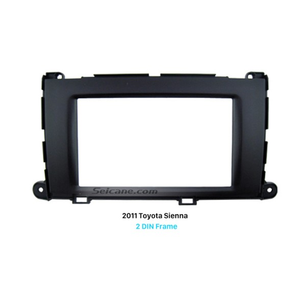 Perfect Double Din 2011 Toyota Sienna Car Radio Fascia Frame Panel Trim Installation Kit Dash CD
