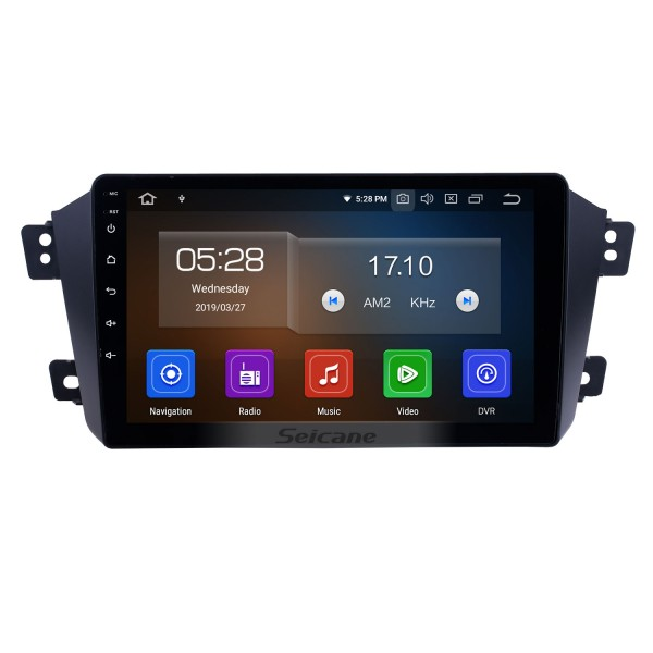 HD Touchscreen for 2012 2013 2014 Geely GX7 Radio Android 10.0 9 inch GPS Navigation System Bluetooth WIFI Carplay support DAB+
