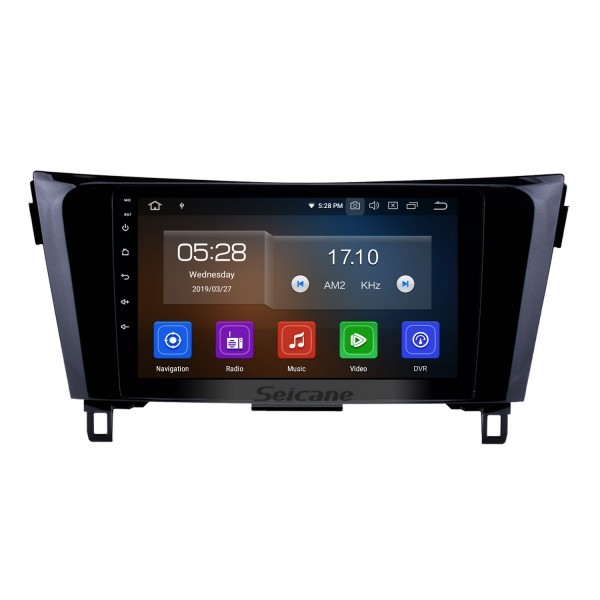 9 inch For 2012-2017 NEW Nissan X-TRAIL Qashqai Android 10.0 HD touchscreen Radio GPS navigation system Support Steering Wheel 3G/4G WiFi Control Bluetooth OBD2