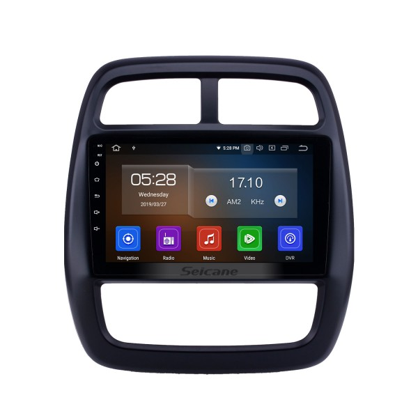 2012-2017 Renault Kwid Android 10.0 9 inch GPS Navigation Radio Bluetooth HD Touchscreen WIFI USB Carplay support Digital TV