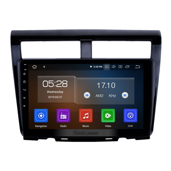10.1 inch Android 10.0 GPS Navigation Radio for 2012 Proton Myvi Bluetooth Wifi HD Touchscreen Carplay support DAB+ Steering Wheel Control DVR