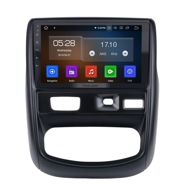 9 inch Android 10.0 For 2012 Renault Duste Radio GPS Navigation System with HD Touchscreen Bluetooth Carplay support OBD2