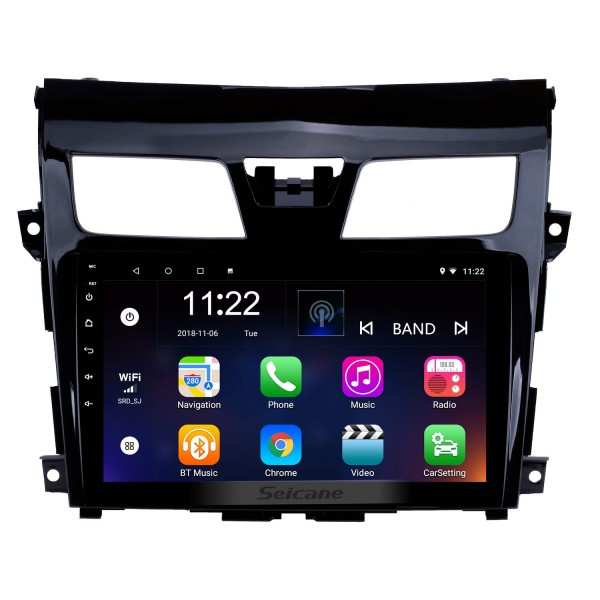 10.2 Inch All-in-One Android 4.4 GPS Navigation system For 2013 2014 2015 NEW NISSAN TEANA with Touch Screen TPMS DVR OBD II Rear camera AUX USB SD Steering Wheel Control 3G WiFi Video Radio Bluetooth