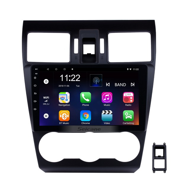 9 Inch Android 10.0 Touchscreen Bluetooth Radio For 2013 2014 Subaru XR Forester  Impreza 3G WiFi GPS Navigation system Bluetooth music TPMS DVR OBD II Rear camera AUX