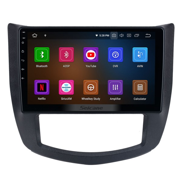 Android 10.0 For 2013-2017 SGMW Hongguang Radio 10.1 inch GPS Navigation System with Bluetooth HD Touchscreen Carplay support DSP