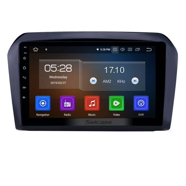 9 inch Android 10.0 GPS Navigation Radio for 2013-2017 VW Volkswagen Jetta with HD Touchscreen Carplay AUX Bluetooth support 1080P