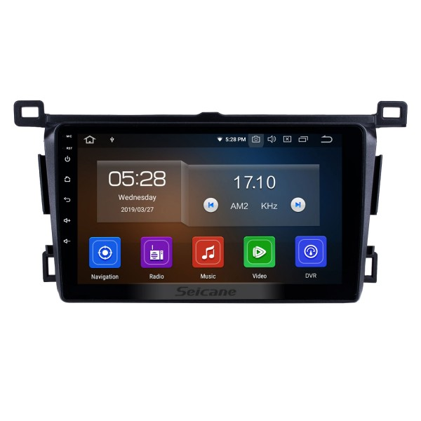 9 inch 2013-2018 Toyota RAV4 RHD Android 10.0 In-Dash Sat Nav Head Unit GPS Radio RDS Bluetooth 3G WiFi TV Tuner AUX HD 1080P Video Rearview Camera USB