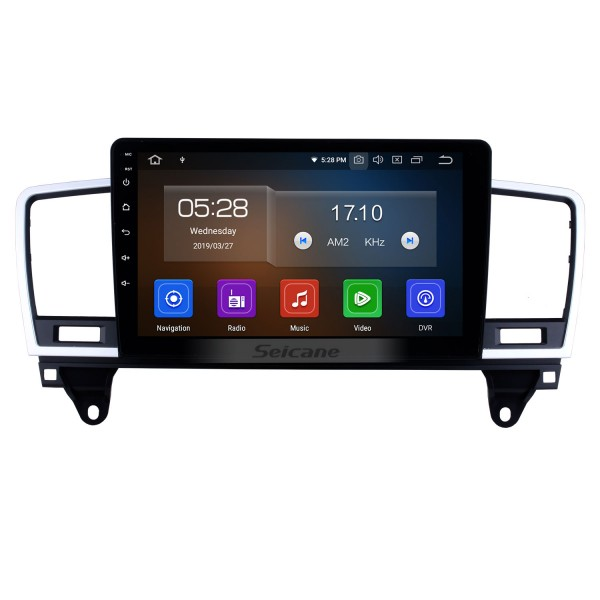 HD Touchscreen for 2014 2015 Mercedes Benz ML Radio Android 10.0 9 inch GPS Navigation System Bluetooth WIFI Carplay support DAB+