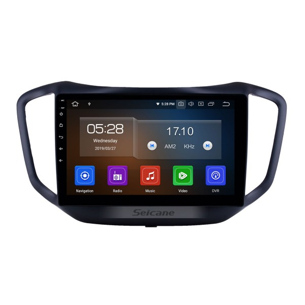 10.1 inch Android 10.0 GPS Navigation Radio for 2014-2017 Chery Tiggo 5 with HD Touchscreen Carplay USB Bluetooth support DVR DAB+