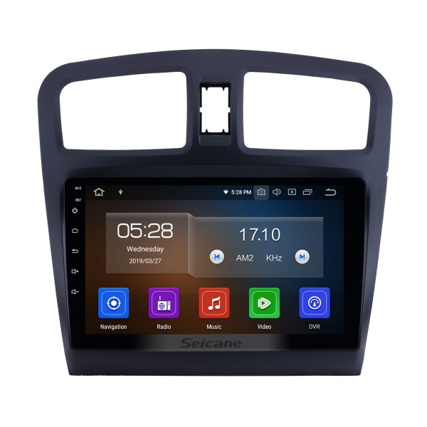Android 10.0 For 2014 Fengon 330 Radio 9 inch GPS Navigation Bluetooth WIFI HD Touchscreen USB Carplay support DVR SWC 1080P Video