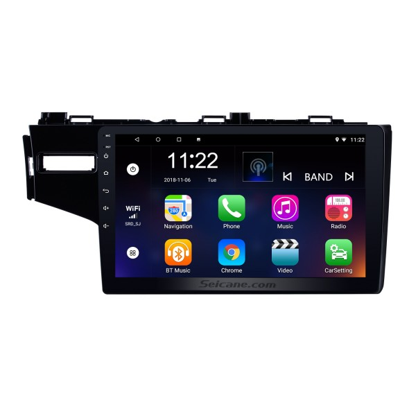 9 inch 2014 Honda FIT Left Android 10.0 Radio DVD Player GPS Navigation System with 1024*600 Touchscreen Bluetooth 3G WIFI DVR Backup Camera DAB+ TPMS