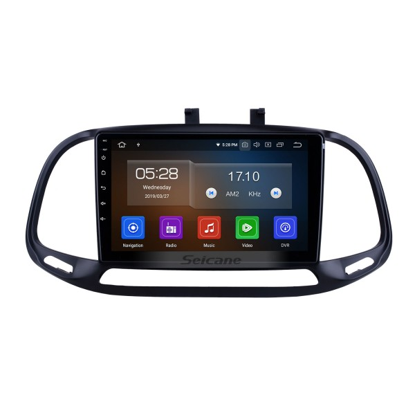 Android 10.0 For 2015 2016 2017 2018 Fiat Dobe 10 Radio 9 inch GPS Navigation Bluetooth HD Touchscreen USB Carplay support DVR SWC