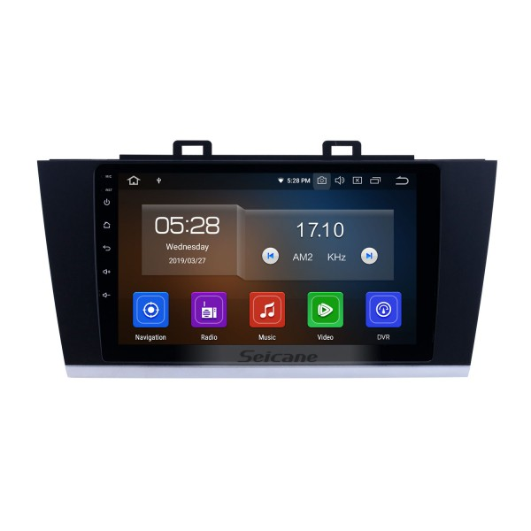 2015-2018 Subaru Legacy Android 10.0 9 inch GPS Navigation Radio Bluetooth HD Touchscreen WIFI USB Carplay support DAB+ SWC