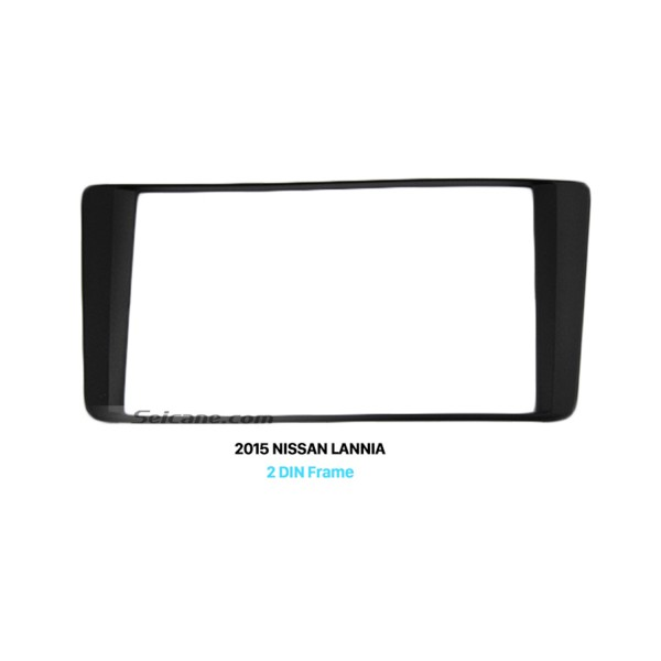 173*98mm Double Din 2015 NISSAN LANNIA High End Car Radio Fascia DVD Frame Panel CD Installation Kit Trim Bezel