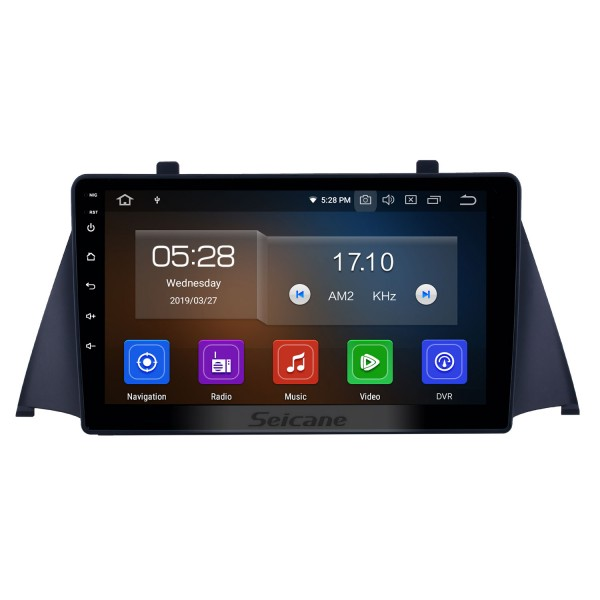 2015 Zotye Domy x5 Android 10.0 9 inch GPS Navigation Radio Bluetooth HD Touchscreen WIFI USB AUX Carplay support TPMS SWC