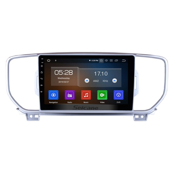 9 inch Android 10.0 For 2016-2017 Kia KX5 Radio GPS Navigation System Touchscreen Wifi Bluetooth Mirror Link OBD2 DAB+ DVR Steering Wheel Control Backup Camera