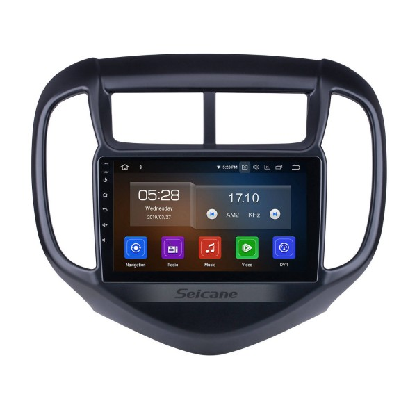 OEM Android 10.0 for 2016 Chevy Chevrolet Aveo Radio with Bluetooth 9 inch HD Touchscreen GPS Navigation System Carplay support DSP