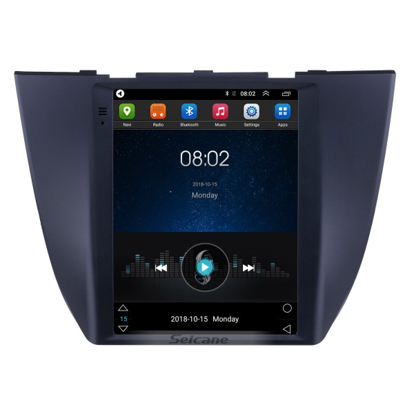 2017 2018 2019 MG ZS 9.7 inch Android 9.1 GPS Navigation Radio with HD Touchscreen Bluetooth WIFI AUX support Carplay Rearview camera