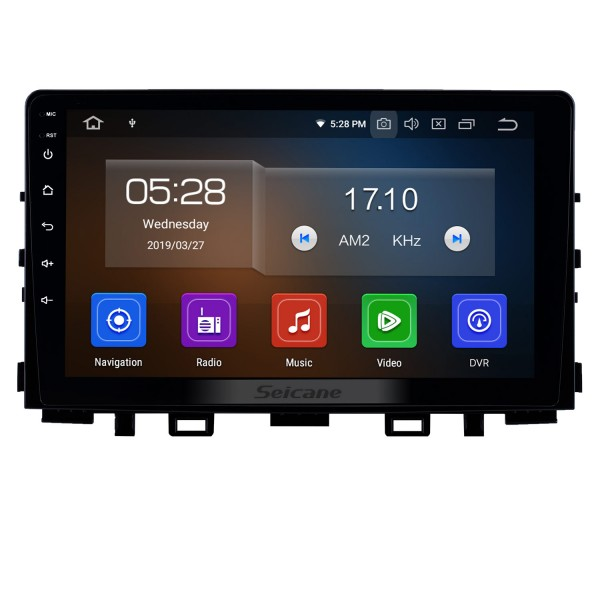 9 inch Android 10.0 Radio for 2017-2019 Kia Rio with GPS Navigation HD Touchscreen Bluetooth AUX Carplay support OBD2 Rearview camera 4G WIFI
