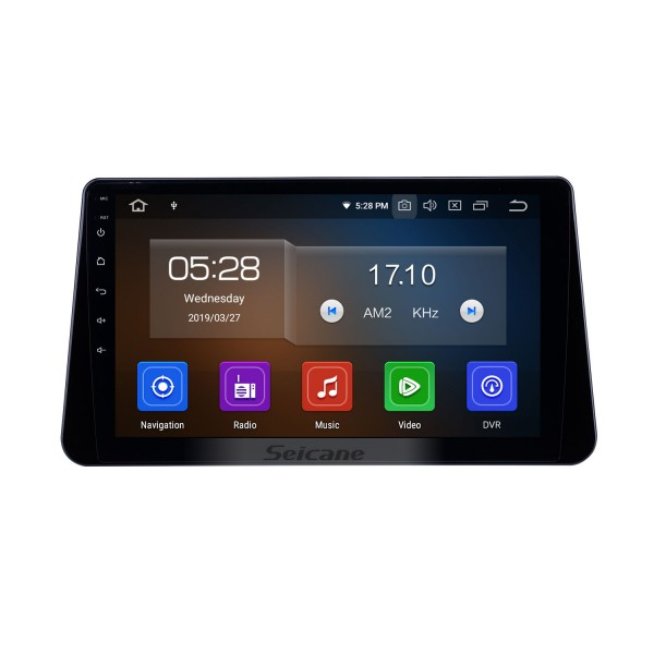 10.1 inch Android 10.0 GPS Navigation Radio for 2017-2019 Nissan Kicks Bluetooth HD Touchscreen Carplay support DVR SWC