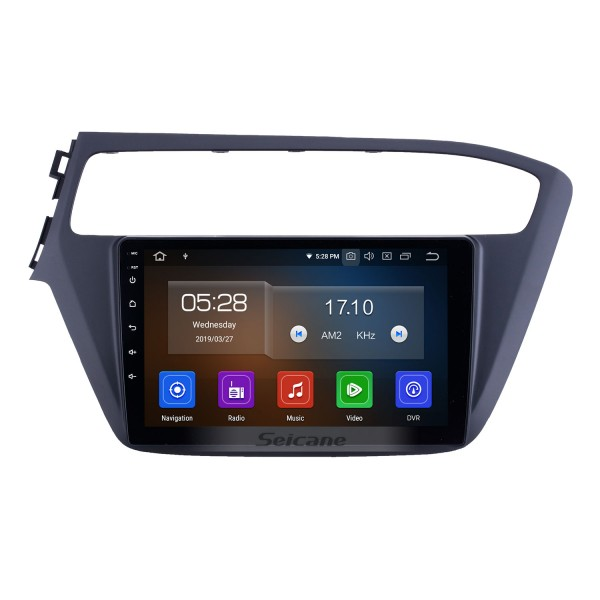 HD Touchscreen 2018-2019 Hyundai i20 LHD Android 10.0 9 inch GPS Navigation Radio Bluetooth Carplay WIFI support Steering Wheel Control