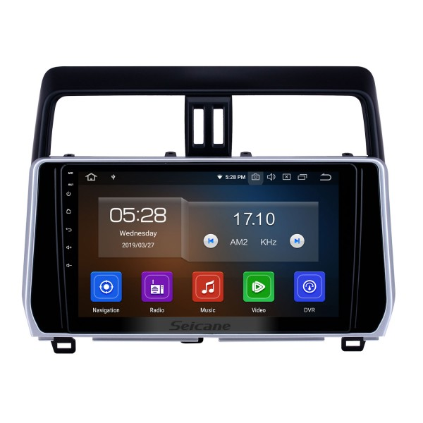 10.1 inch Android 10.0 GPS Navigation Radio for 2018 Toyota Prado Bluetooth HD Touchscreen AUX Carplay support Backup camera