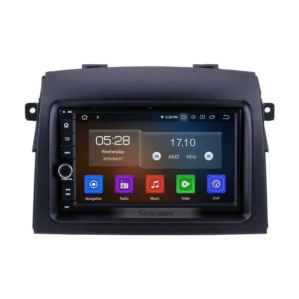 2004 2005 2006-2010 Toyota Sienna Android 9.0 Radio GPS Navigation 7 inch HD Touch Screen Head unit With  Bluetooth WIFI music SWC USB support SD Carplay DVD 1080P Video