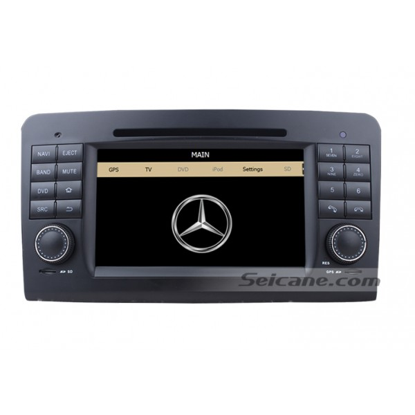 Car dvd player for Benz GL CLASS with GPS radio TV bluetooth-3
