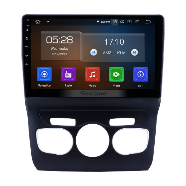 10.1 inch Android 9.0 Car Multimedia Player for 2013 2014 2015 2016 Citroen C4L GPS Navi Radio Bluetooth Wifi FM USB Mirror Link support OBD 1080P Video DVD Player SWC Backup Camera DVR
