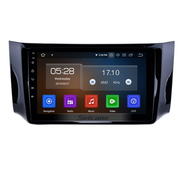 10.1 inch 2012 2013 2014 2015 2016 NISSAN SYLPHY HD TouchScreen GPS Navigation System Head Unit Android 9.0 FM/AM/RDS radio Support TPM OBD II DVR USB Bluetooth