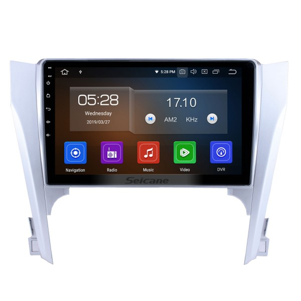 10.1 inch Android 9.0 2012 2013 2014 2015 Toyota Camry HD Touchscreen Bluetooth GPS Navigation Radio Steering Wheel Control support DVR 3G/4G WIFI USB Carplayer DVD Player