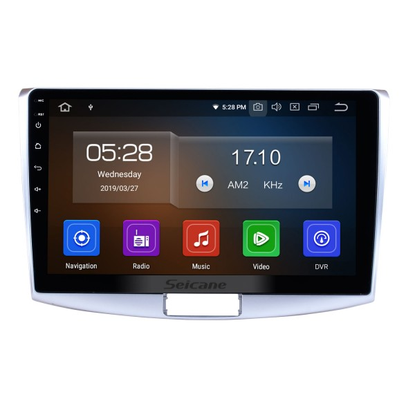 10.1 inch Android 9.0 2012 2013 2014 VW Volkswagen Magotan Radio Upgrade 1024*600 Multi-touch Screen GPS Navigation Stereo CD Player SWC WiFi OBD2 Mirror Link Bluetooth Music