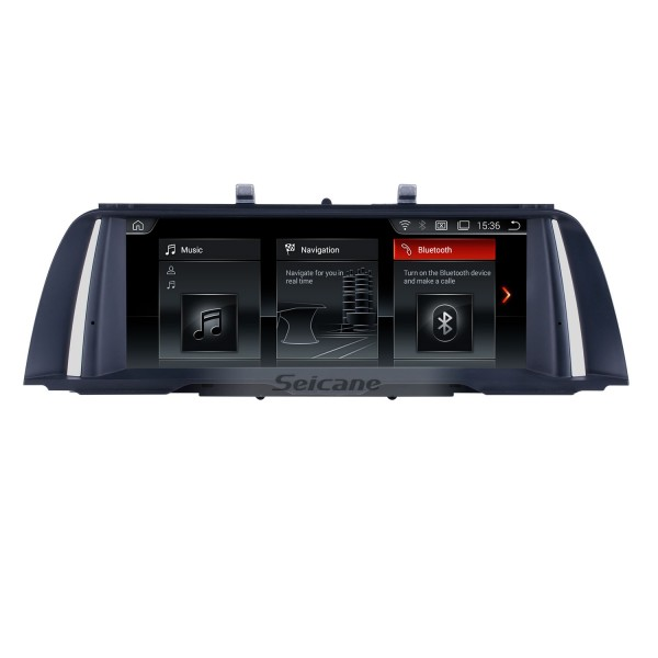 10.25 Inch HD Touchscreen Android 10.0 2011 2012 BMW 5 Series F10/F11 CIC Car Stereo Radio Head Unit GPS Navigation Bluetooth Phone MP3 Support Steering Wheel Control WIFI Backup Camera