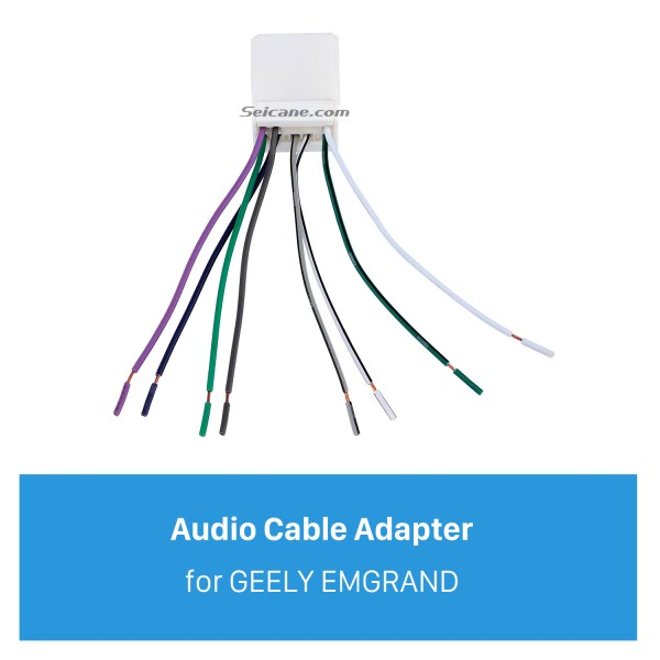 Top Wiring Harness Adapter Audio Cable for GEELY EMGRAND