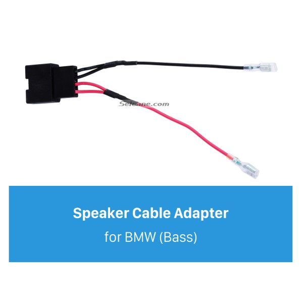 Hot sale Auto Car Wiring Harness Plug Adapter Speaker Sound Cable for BMW (Bass)