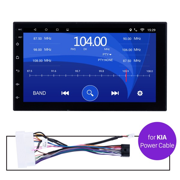 Car Radio Stereo Head Unit Power Cables For KIA For Model H605E