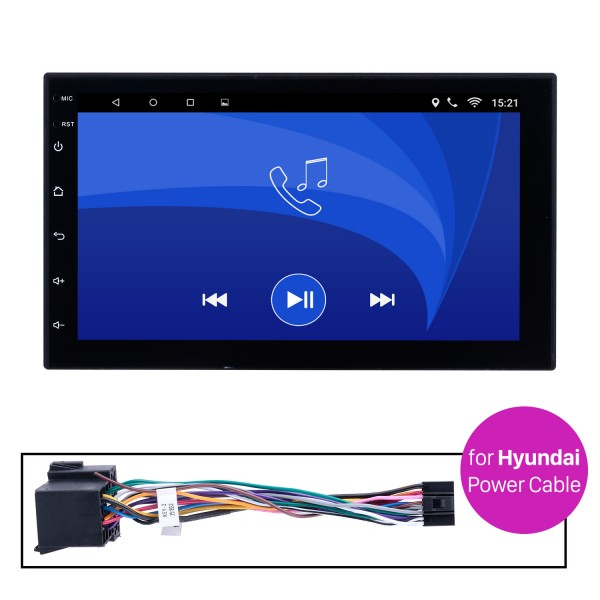 Car Radio Stereo Head Unit Power Cables For Hyundai For Model H605E