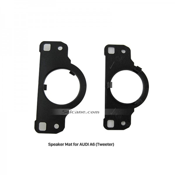 High Quality Car Tweeter Speaker Mat Plates Bracket for AUDI A6
